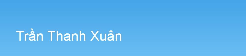 Trần Thanh Xuân